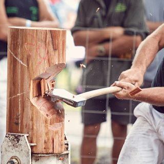 Woodchop Competition | Berry Show